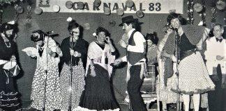 Las Esmeraldas, murga ganadora, Carnaval de Badajoz 1983.
