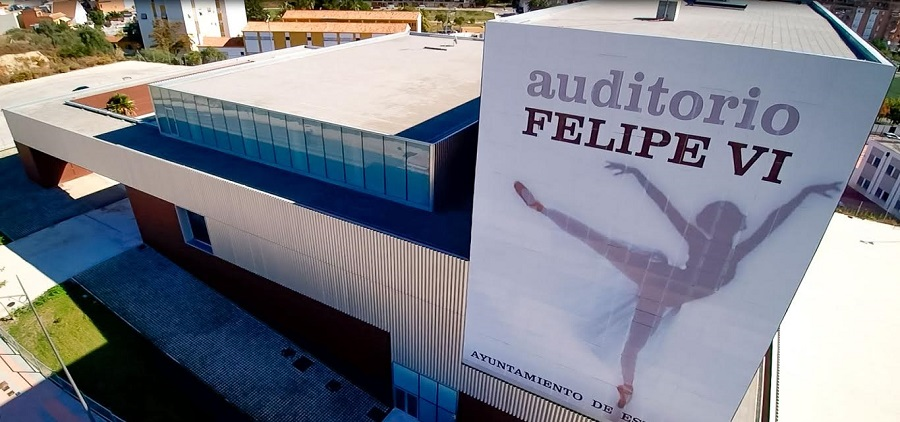 Auditorio Felipe VI de Estepona, gestionado por SEDA. CEDIDA