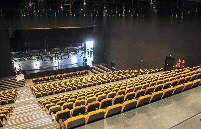 Auditorio de Estepona, gestionado por SEDA