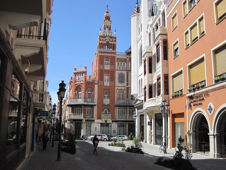 Badajoz también tiene su giralda. J.M. PAGADOR