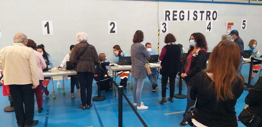El Registro de los nuevos vacunados. J.M. PAGADOR