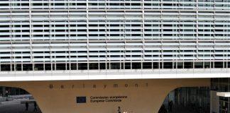 Entrada a la Comisión Europea, una puerta para la Nueva Bauhaus. J.M. PAGADOR