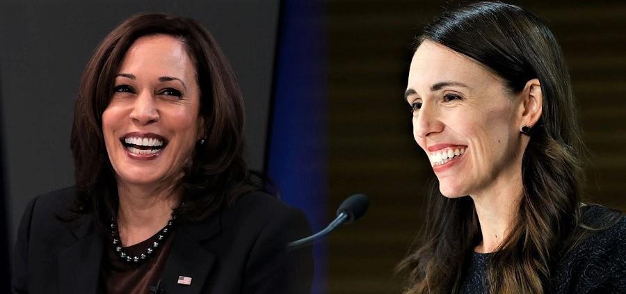 Kamala Harris y Jacinda Arden, dos ejemplos de buenas gobernantes. PARLAMENTO EUROPEO