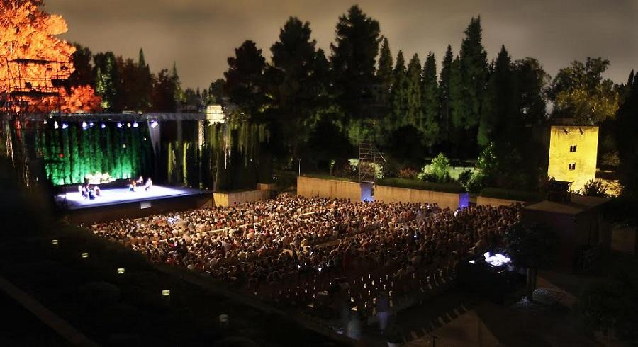Lorca y Granada, en el Generalife, producido por SEDA. CEDIDA