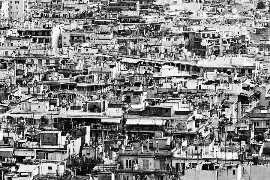 Vista del área urbana de Tesalónica (Grecia). Albin HammerleImaggeo