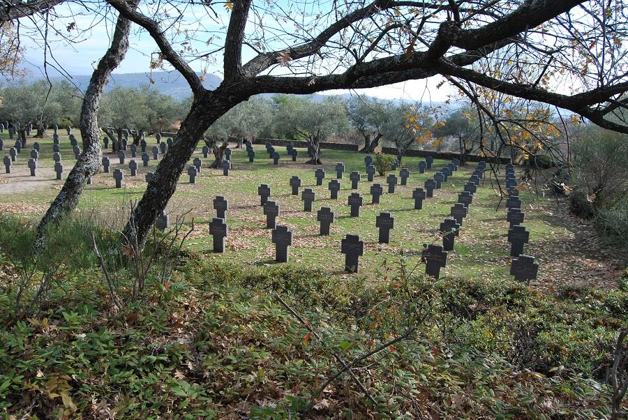 Cementerio militar alemán de Cuacos de Yuste. J.M. PAGADOR