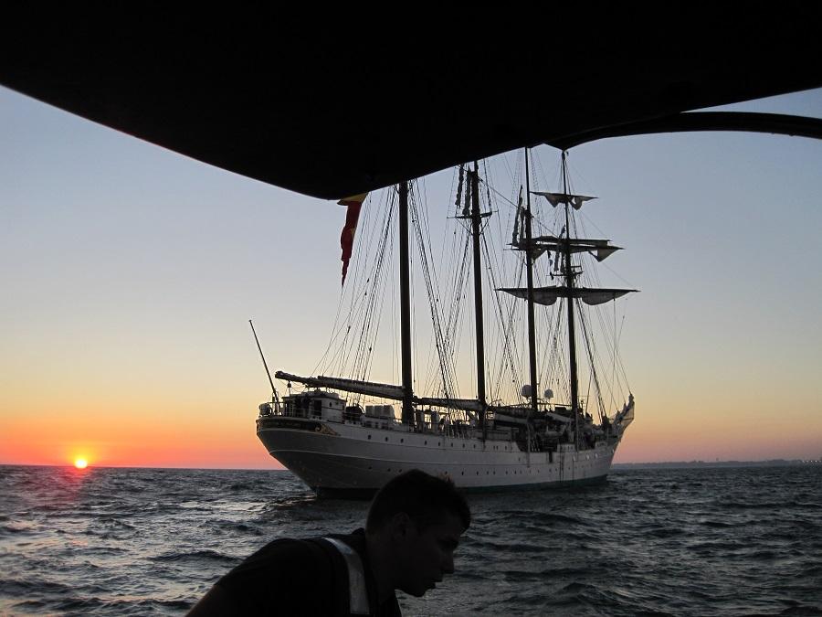 Desembarcamos a la llegada de la noche. J.M. PAGADOR