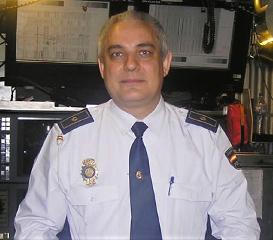 El autor de la investigación es jefe de la Policía Nacional en Cáceres. JOSÉ CARLOS VIOLAT