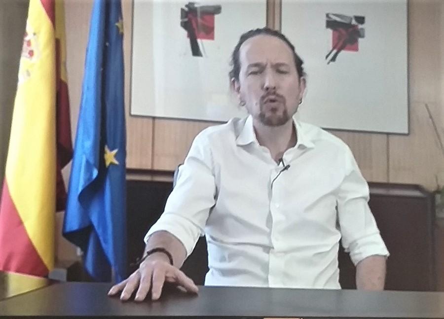El día que anunció su dimisión del gobierno, creyendo que iba a conseguir algo en Madrid. RTVE