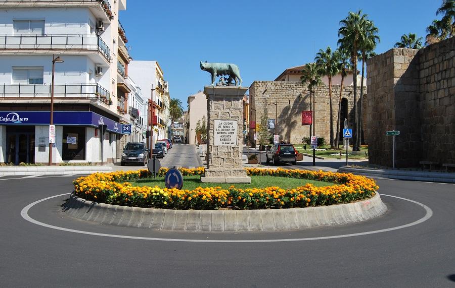 La loba romana en Mérida. J.M. PAGADOR