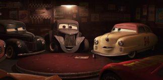 Los coches lo han invadido todo. Fotograma de Cars 3 (DisneyPixar).