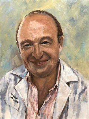 Retrato del doctor Javier Algora Lillo.