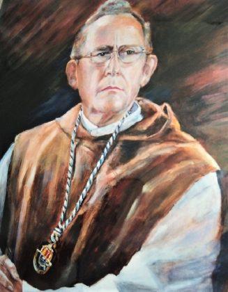 Retrato del prior del monasterio de Yuste fray Francisco de Andrés.