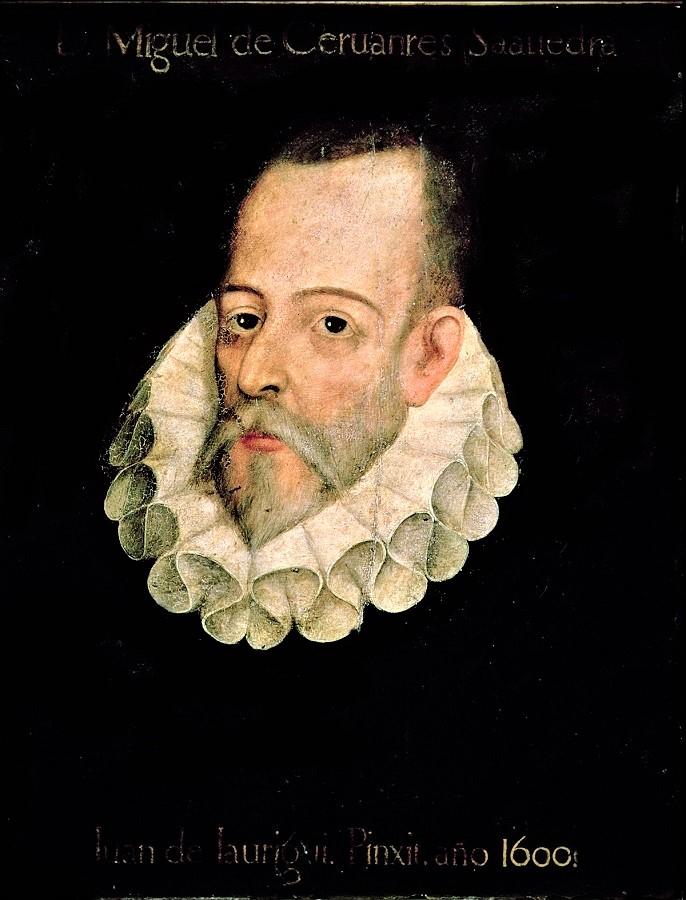Cervantes tocó el tema.