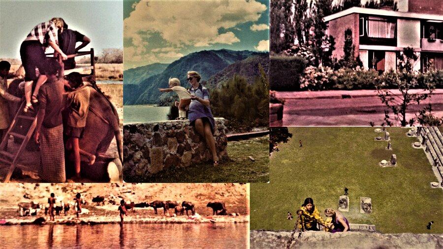 Collage a partir de imágenes de El Salvador, Angola, Nepal, Tailandia y Holanda.
