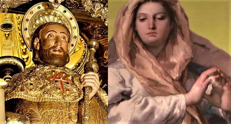 Santiago y la Inmaculada, patronos de España. Si ellos no arreglan esto...