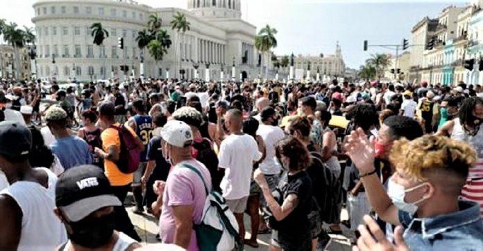 Cuba pide unánimemente libertad.
