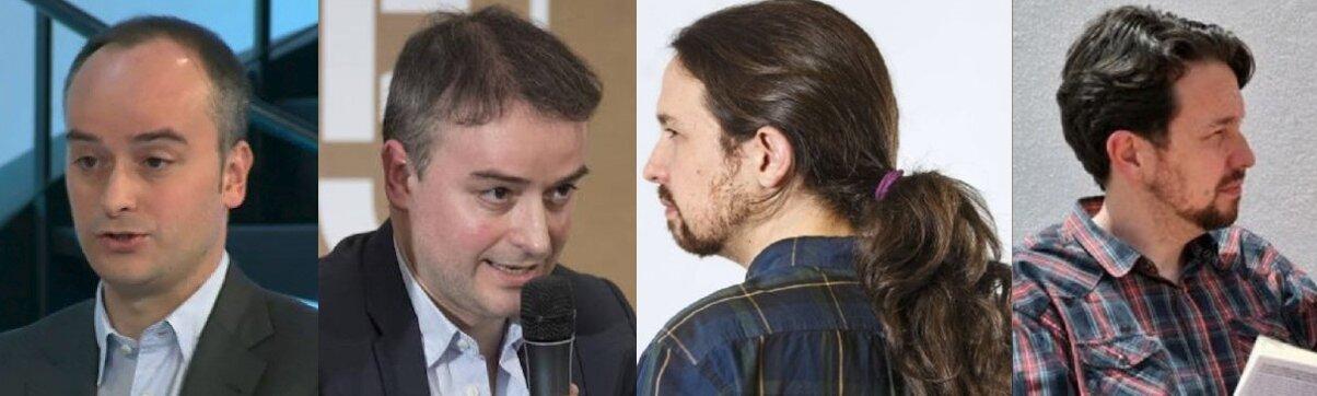 Los dos son aficionados a las mismas cosas, como modificar sus cabelleras.