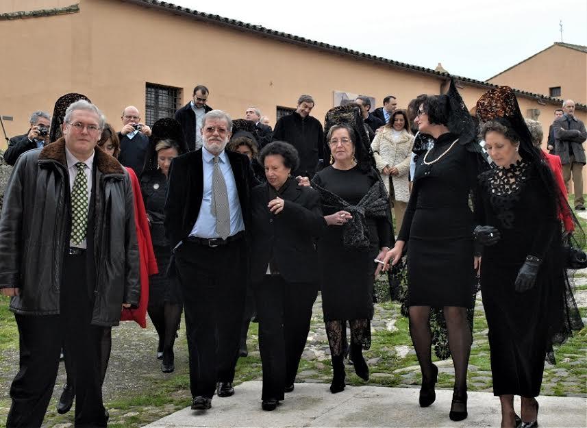 Nombramiento de Juan Carlos Rodríguez Ibarra como socio de honor de los Amigos del Museo. M. VOSTELL-MALPARTIDA