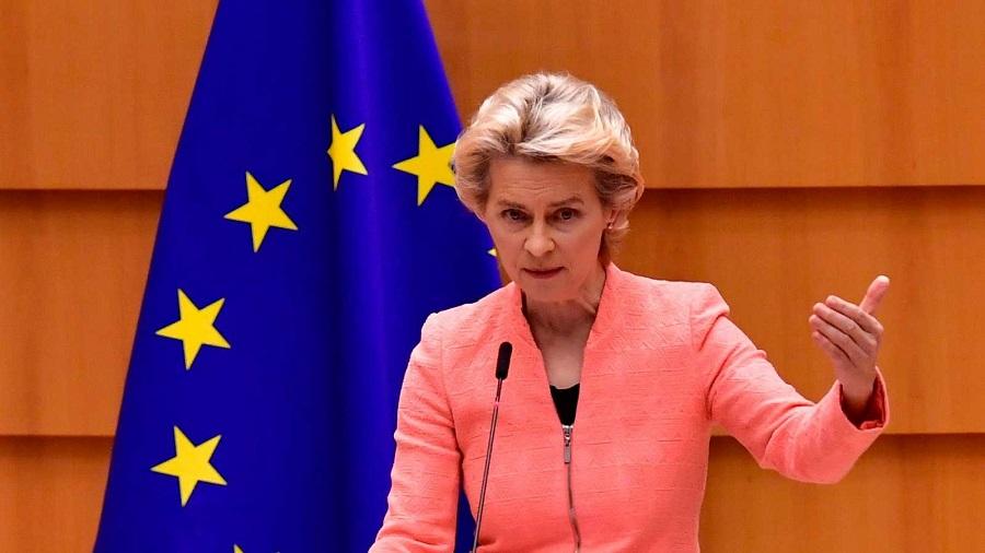 Ursula von der Leyen lidera el movimiento. RTVE
