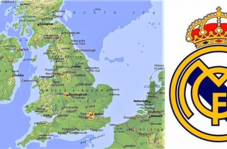 ¿Se puede 'ir' el Real Madrid al Reino Unido? MAPAINTERACTIVO