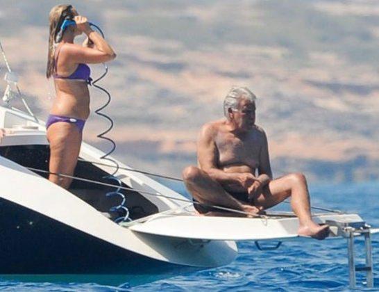No hay duda, a Felipe le siguen gustando los yates. TWITTER