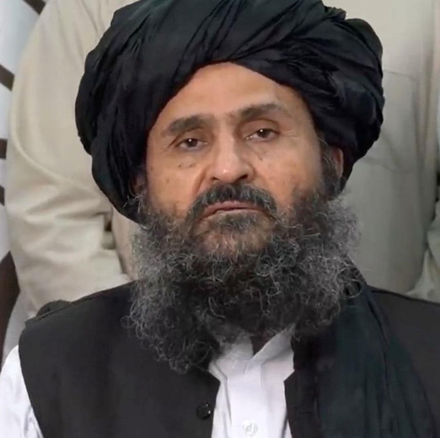 El mulá Baradar, posiblemente el nuevo primer ministro.