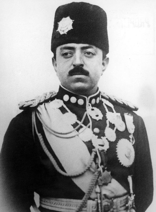 El rey Amanullah Khan. WIKIPEDIA