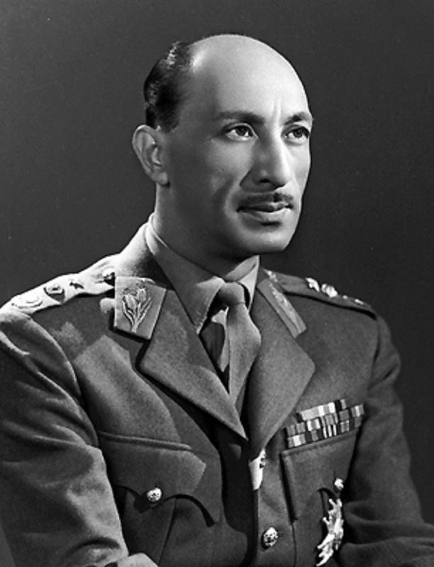 El rey Zahir Shah de Afghanistan en 1963