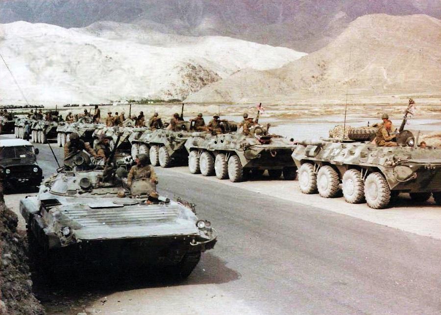 En 1979, comienza la invasión rusa de Afganistán.