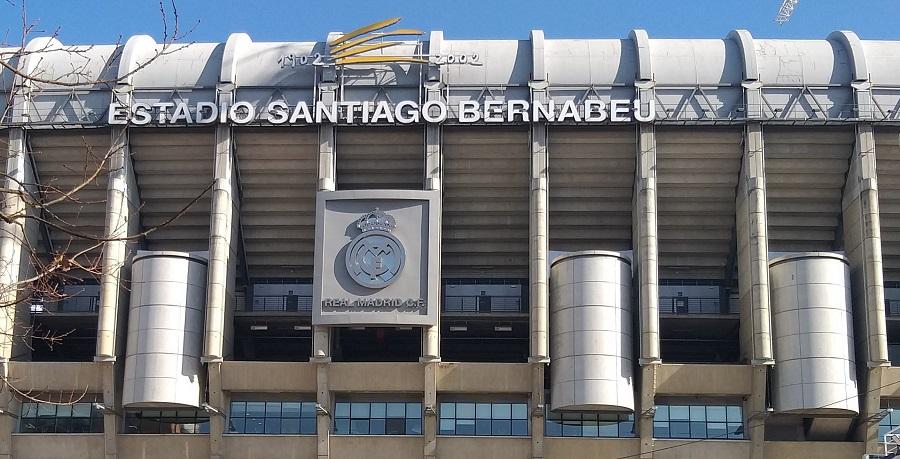 Estadio Santiago Bernabeu. J.M. PAGADOR
