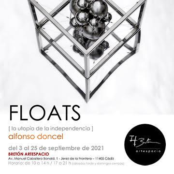 Exposición FLOATS, en Bretón Artespacio, Jerez (Cádiz)
