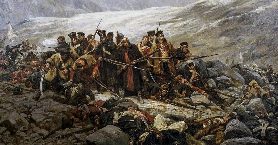 Los británicos son derrotados en Afganistán en 1842.