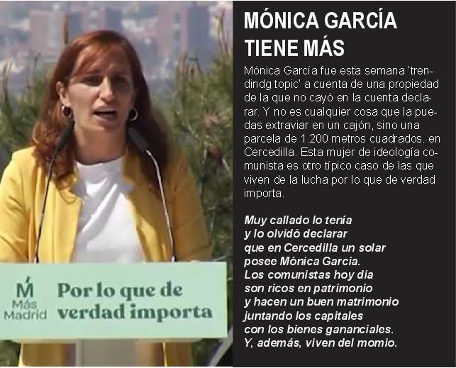 Mónica García tiene más