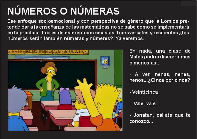 Números o númeras