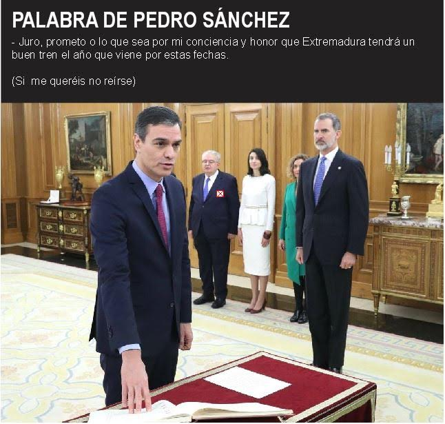 Palabra de Pedro Sánchez