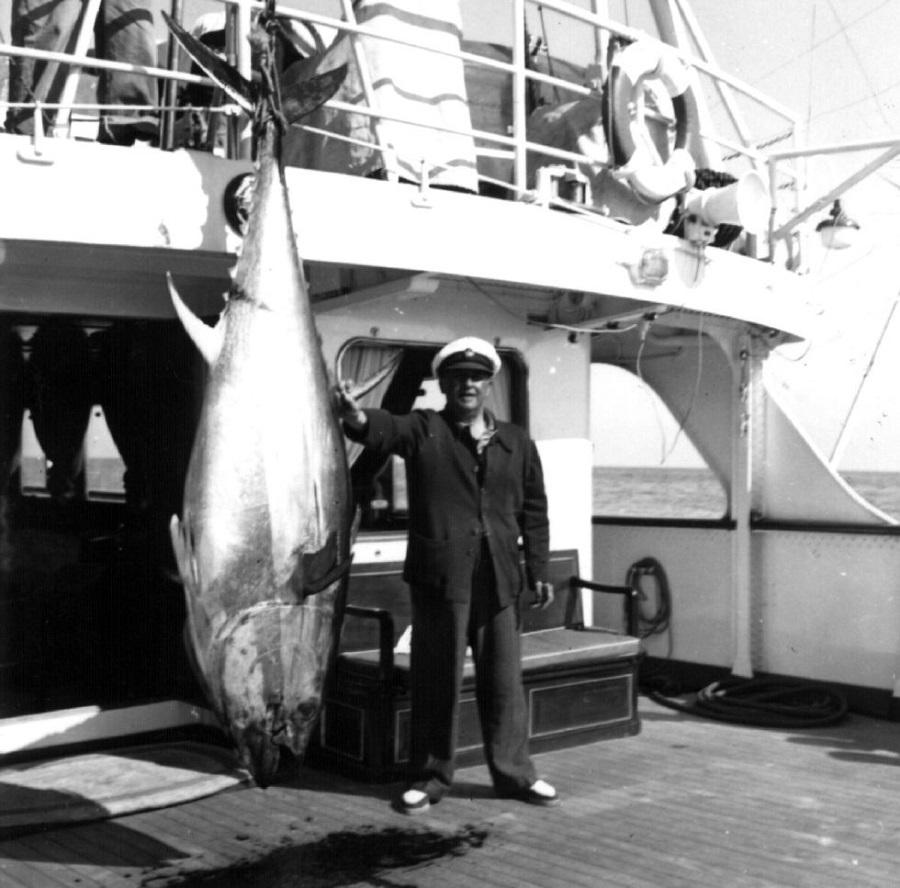 Se decía que a Franco le pescaban los atunes para que presumiera.