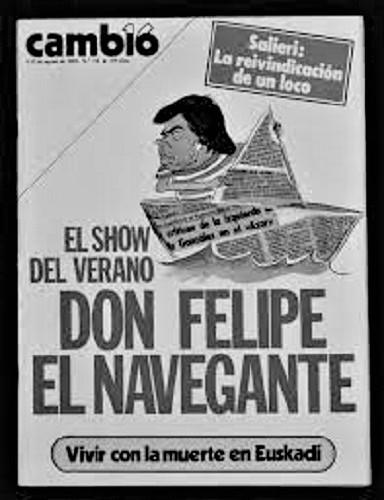 Toda la prensa se hizo eco , como Cambio 16, de la que el periodista era corresponsal. ARCHIVO J.M. PAGADOR