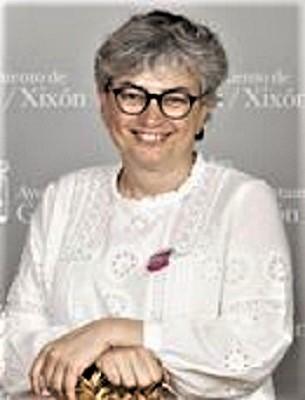 Ana González Rodríguez, alcaldesa de Gijón.