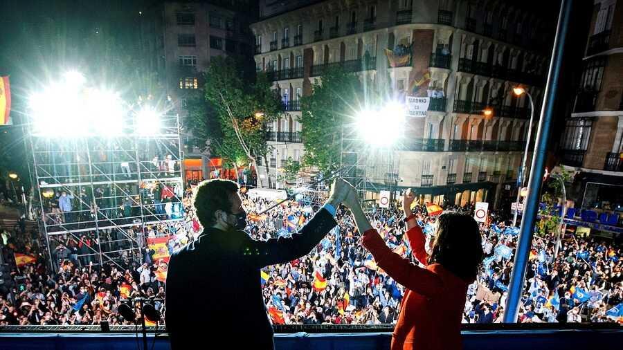 Ayuso barrió al PSOE. RTVE