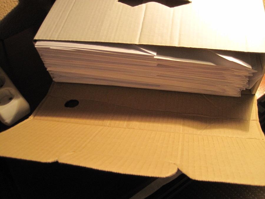 Cada documento va protegido dentro de un sobre, clasificado y nominado con la explicación correspondiente. PROPRONews.