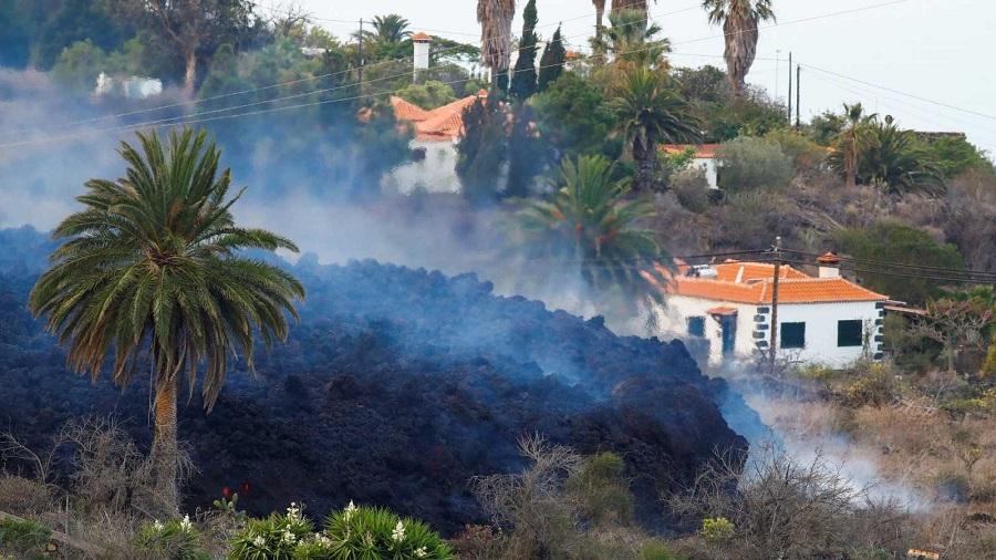 Destrucción imparable en La Palma. RTVE