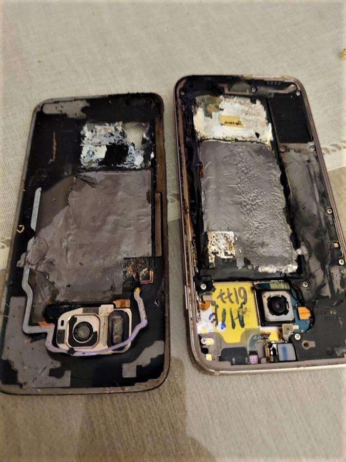 El aparato quedó destruido. CEDIDA