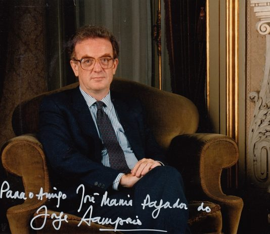Jorge Sampaio, un gran amigo de España. ARCHIVO J.M.P.