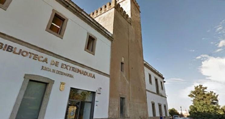 La Biblioteca de Extremadura, donde queda depositado el archivo.