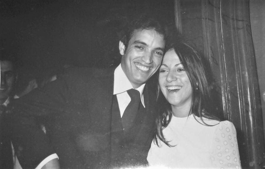 Rachid, alto cargo marroquí, cuando era alcalde de El Aaiún, casado con la extremeña Encarna Luque. ARCHIVO J.M.P.
