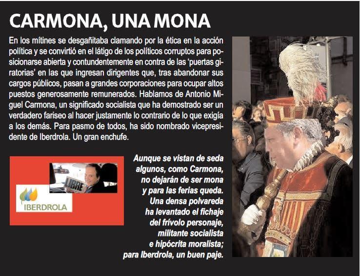 Carmona, una mona