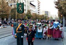 Celebración de la patrona de la Guardia Civil en Zaragoza antes de la pandemia.