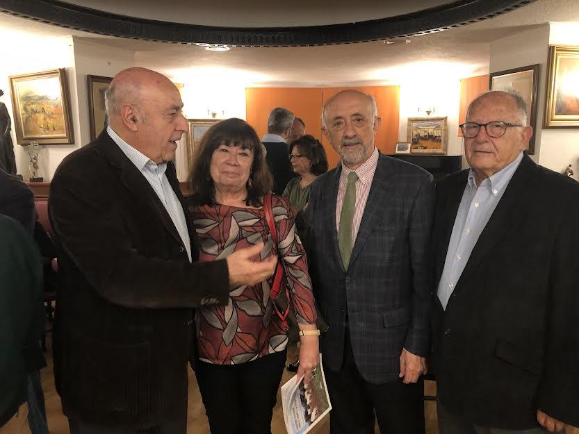Con Cristina Narbona y Juan Serna.