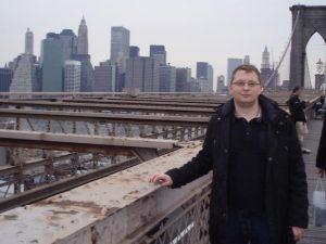 Iván Cedrón en Nueva York.